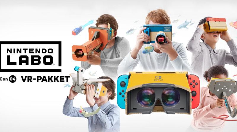 [Impressie] Nintendo Labo: VR-pakket