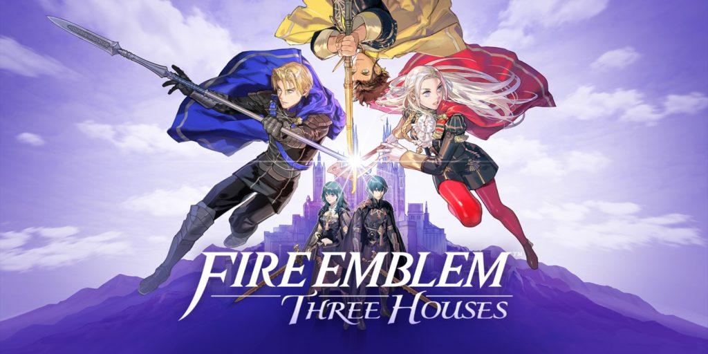 Fire Emblem Three Houses Keyart