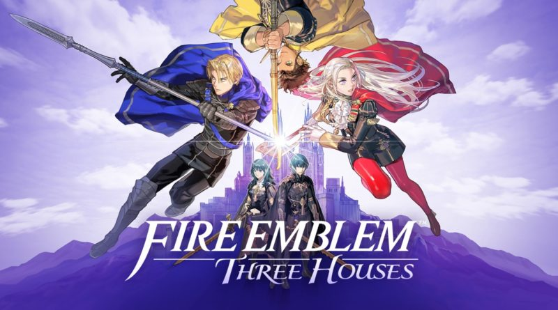 Fire Emblem Three Houses Keyart