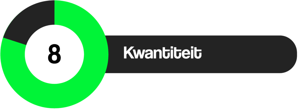 Review Kwantiteit 8