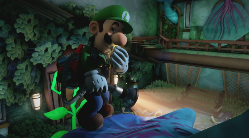 Luigi's Mansion 3 screen