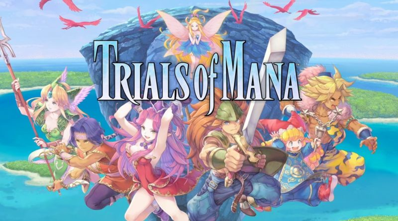 Trials of Mana art